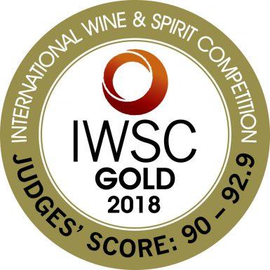 IWSC GOLD 2018